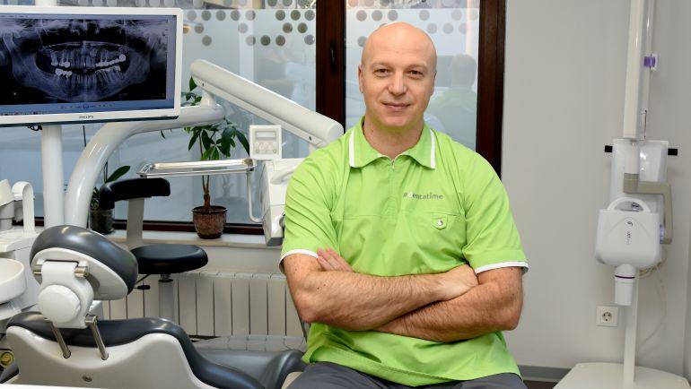 Базални импланти с имедиатно натоварване  – импланти с корони за 3 дни